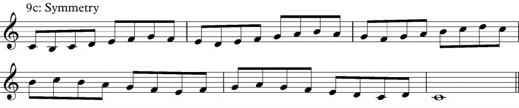 IX - c - symmetry